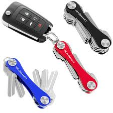 amazon com keysmart classic compact key holder and keychain