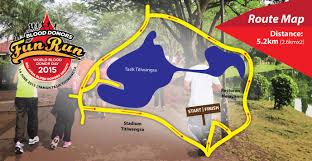 Map Run Route by Sedarah Malaysia