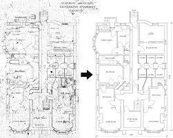 toronto cad services autocad drafting technical drawings residential building floor plan autocad