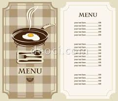 sample breakfast menu template here is preview of this first