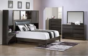 White Walls Dark Furniture Bedroom Dark Wood Bedroom Furniture Decor King Size Platform Frame Queen