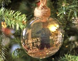 how to make a floating photo ornament baby s trip to the