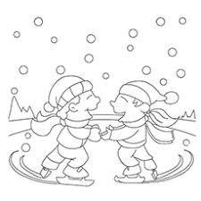 25 free printable winter coloring pages