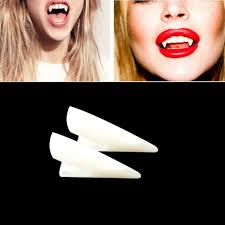 aliexpress com buy horrific 4 pcs dress vampire teeth halloween