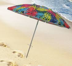 Lightweight Beach Parasol 7 U2032 Palms Stripe Beach Umbrella Parasol Enterprises