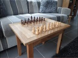 chess board coffee table making a wooden chess board table youtube