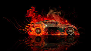 nissan juke flame red nissan juke r back fire abstract car 2014 el tony
