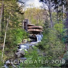 fallingwater frank lloyd wright fallingwater calendar 2018 maclin studio