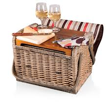 picnic basket for 2 kabrio wine basket moka picnic time family of brands