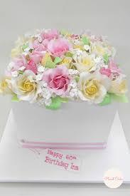 sugar roses rose box cake planet cake online store pinterest