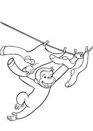 free printable curious george coloring pages r pinterest