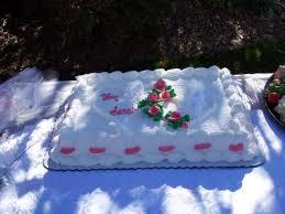 wedding sheet cake half sheet wedding cake