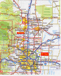 Colorado Map Images by Location Map Auserehlian Home