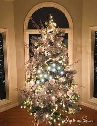 pictures of trees decorated beautifully