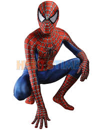 spider man costume 3d printed cosplay suit