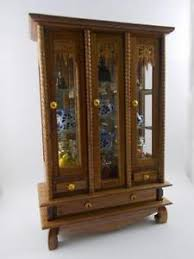 Wooden Wall Display Cabinets Display Cabinet Ebay