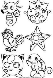 pokemon silver game boy color game coloring books