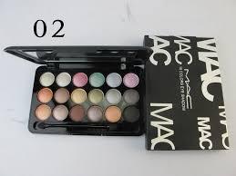 mac eye shadow 18 colors 5 sets daf652 mac makeup