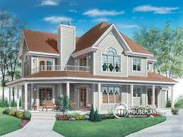 100 wrap around porch low country house plans with