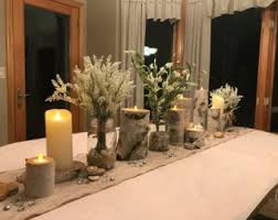 Wedding Candle Holders Centerpieces by Wood Candle Holder Etsy