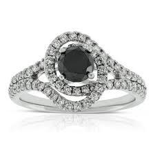 black and white engagement rings engagement rings ben bridge jeweler