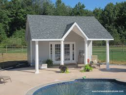 custom pool house pool houses custom styles hillside structures