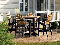 Patio Bar Height Table And Chairs Chair Patio Bar Height Table Chairs Adirondack Woodworking Plans