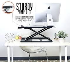 desk sit stand desk converter office depot sit stand desk