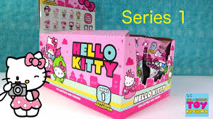 hello kitty costume collection series 1 blind bag figures opening