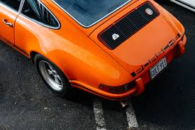 Porsche 911 Orange - welcome to vintage porsche heaven also known as luftgekühlt