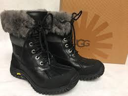 ugg australia womens black grey adirondack boots ugg australia s adirondack boot ii boots choose sizes black