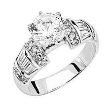 mens engagement rings white gold mens white gold ring ebay
