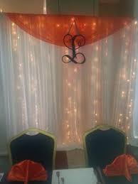 wedding drapery pipe and draping wedding wall draping cafe lighting twinkle