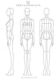 25 unique body template ideas on pinterest fashion illustration