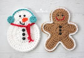 crochet snowman repeat crafter me