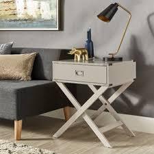 silver nightstands you u0027ll love wayfair