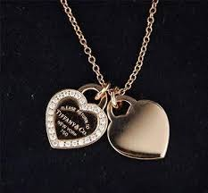 heart charm necklace tiffany images Best 25 tiffany necklace ideas tiffany and co jpg