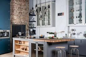 cuisine industrielle deco cuisine industrielle deco idee deco cuisine avec cuisine blanche et
