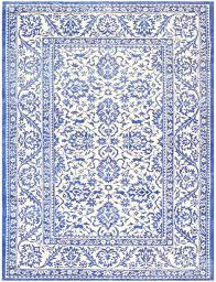 Indian Area Rugs Ivory And Light Blue Vintage Cotton Agra Rug 48375 By Nazmiyal