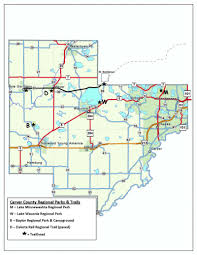 Mn State Park Map by Parks U0026 Recreation Carver County Mn