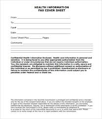 generic fax cover sheet fax cover letter example word template