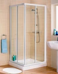 White Shower Door Frameless Corner Shower Doors The Home Depot Intended For Door
