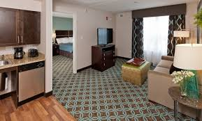 Homewood Suites Canton Dedham Hotel Accommodations - Two bedroom suite boston