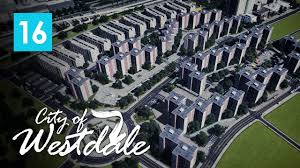 cities skylines city of westdale ep16 lego apartment blocks