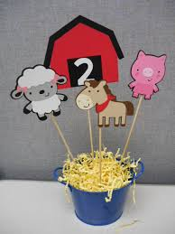 Farm Theme Baby Shower Decorations Farm Animals Zoo Animals Centerpieces For Birthday Party