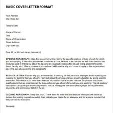 Basic Cover Letter Structure Best Event Planning Cover Letter U2013 Letter Format Writing