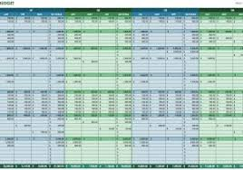 crown financial budget spreadsheet and financial budget worksheet
