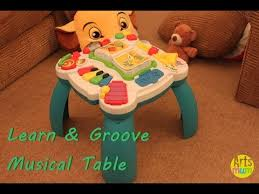 learn and groove table leapfrog learn and groove musical table youtube