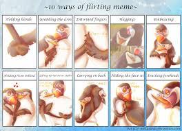 Hands On Face Meme - penguins of madagascar 10 ways of flirting meme by leokatana on