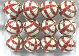 red u0026 gold christmas ornaments